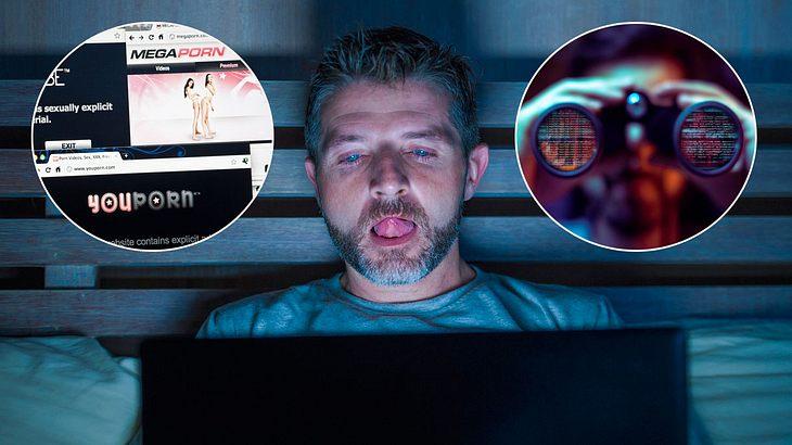 """""""Tracking Tools"""" spionieren Porno-Gucker aus (Collage)."""
