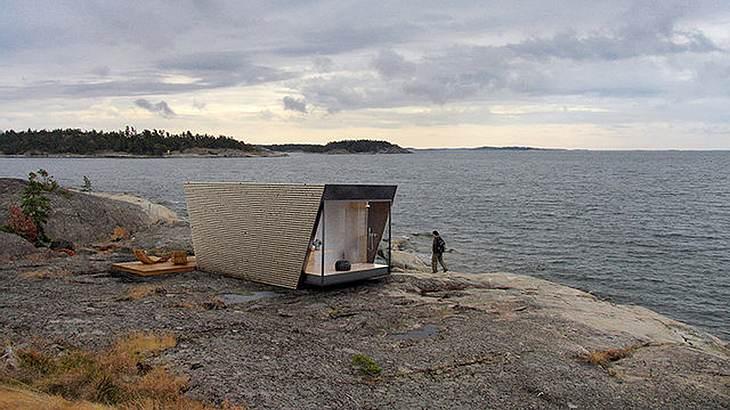 DROP Box: Diese tragbaren Zelte von In-Tenta sind Hotel-Suiten in Zeltform