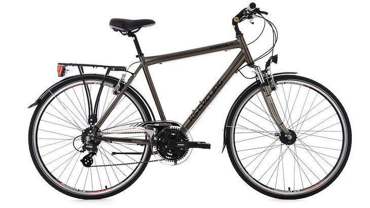 KS Cycling Herren Trekkingrad Norfolk RH 56 cm Flachlenker Fahrrad