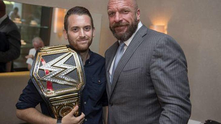 Triple H und Charlie Guenigalt