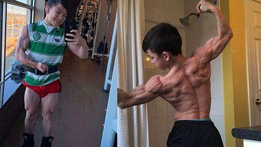 Tristyn Lee: 15-jähriger Bodybuilder macht Schwarzenegger Konkurrenz