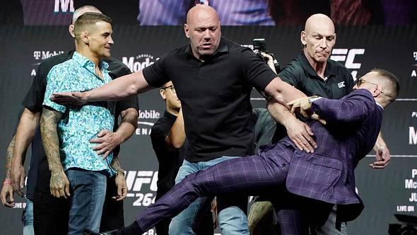 Dustin Poirier, Conor McGregor - Foto: YouTube/UFC - Ultimate Fighting Championship