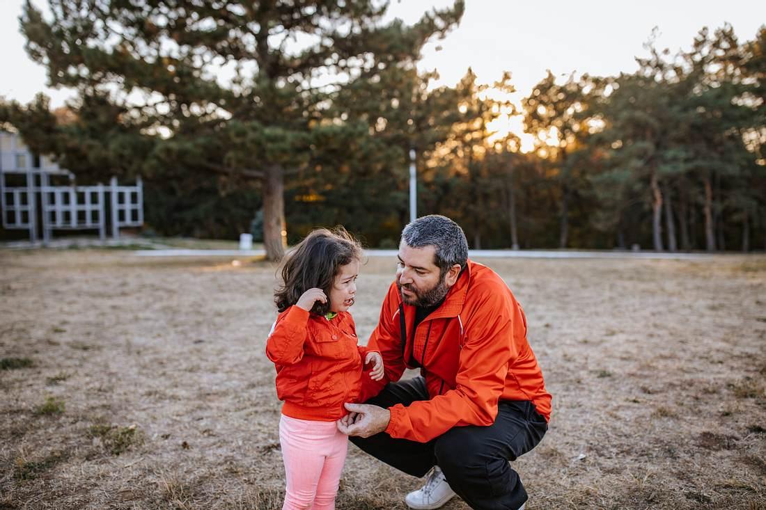 Trotzphase des Kindes: So sollten sich Väter verhalten