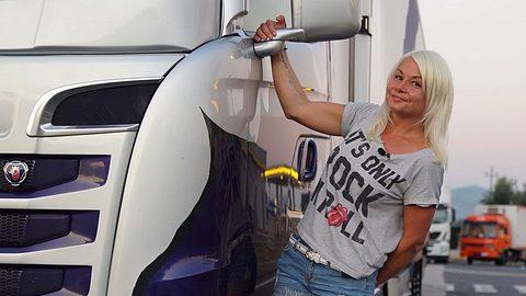 Lissy von Trucker Babes - Foto: Kabel 1