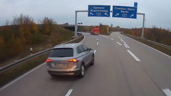 Trucker-Cam dokumentiert deutschen Verkehrs-Irrsinn