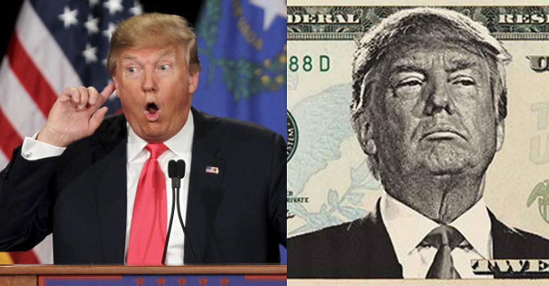 Dieses Gehalt bezieht Donald Trump als US-Präsident