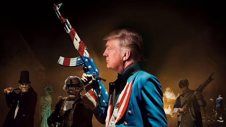 Hat The Purge: Election Year den Donald Trumps Wahlslogan für 2020 vorausgesagt?