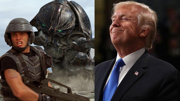 Donald Trump will eine Weltraum-Polizei einführen