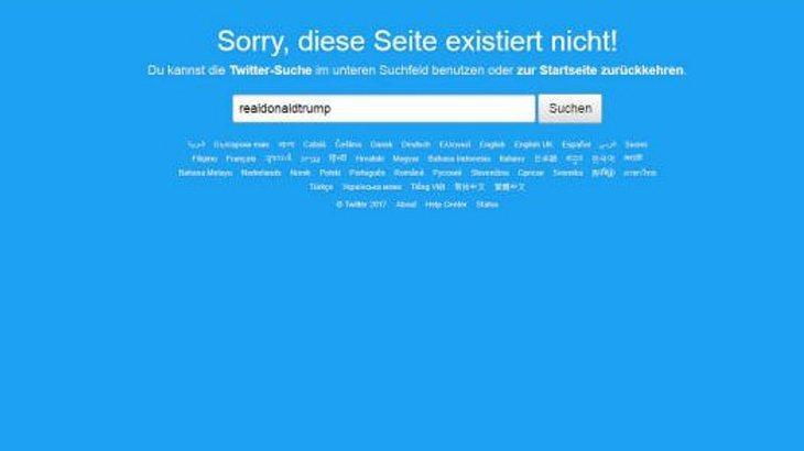 Twitter-Mitarbeiter schaltet Donald Trumps Account ab
