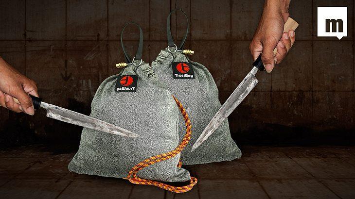 Trust Bag ist der Name des vielleicht sichersten Beutels der Welt