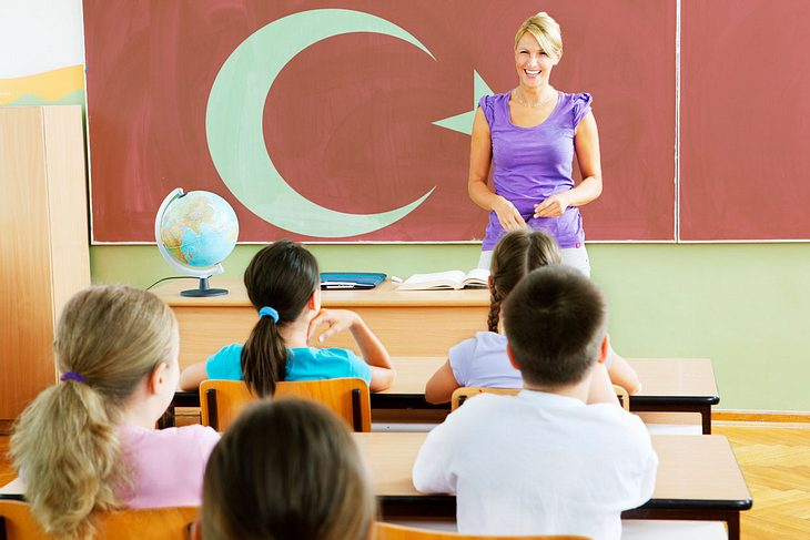Türkisch-Unterricht an Berliner Grundschulen