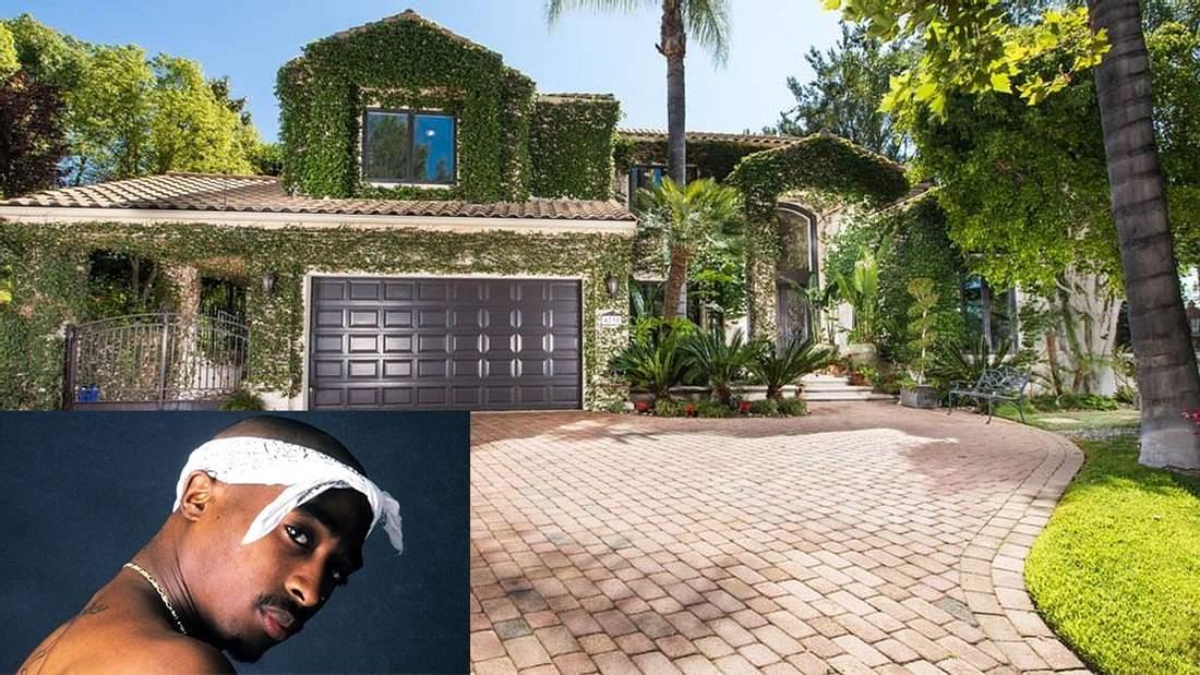 Tupac's ehemalige Villa steht zum Verkauf