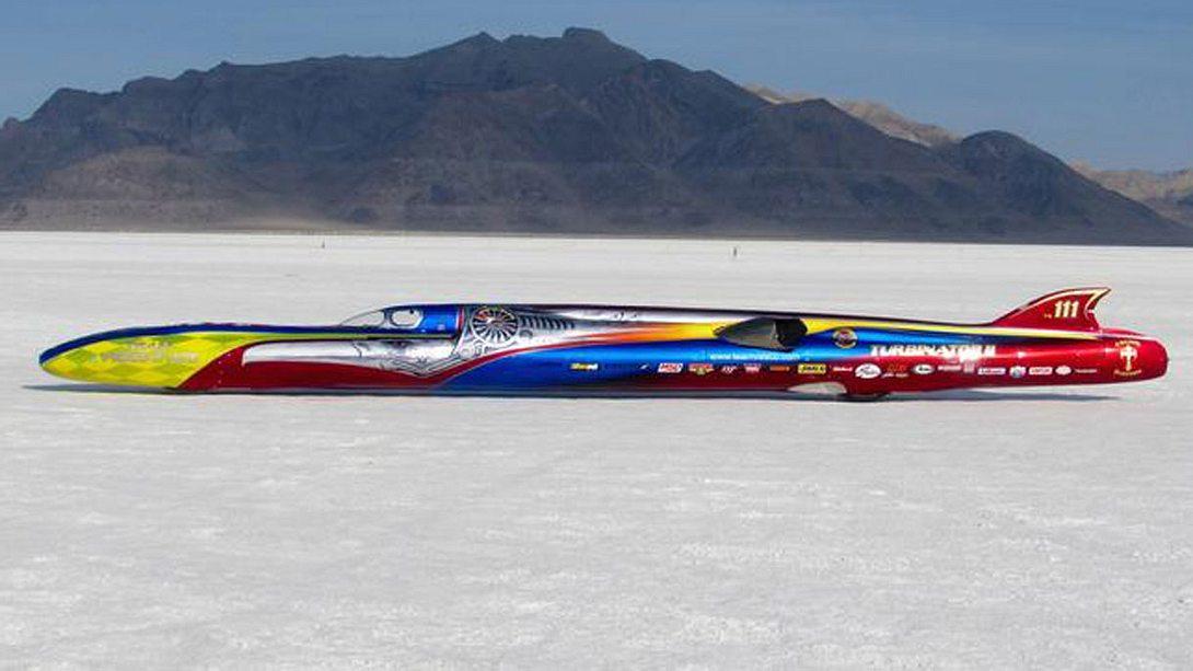 Rekordfahrzeug Turbinator II - Foto: Team Vesco