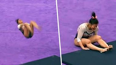 Horror-Bilder: Turnerin bricht sich beide Beine
