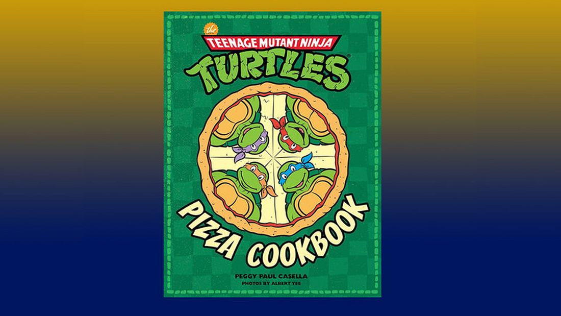 Das Turtles-Kochbuch The Teenage Mutant Ninja Turtles Pizza Cookbook ist ab dem 23. Mai in Deutschland erhältlich