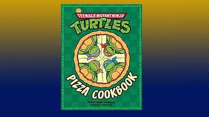 Das Turtles-Kochbuch The Teenage Mutant Ninja Turtles Pizza Cookbook ist ab dem 23. Mai in Deutschland erhältlich  - Foto: INSIGHT EDITIONS