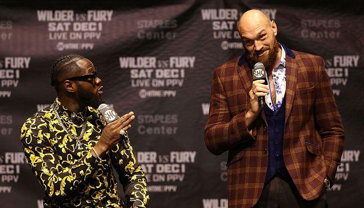 Tyson Fury will Einnahmen aus Wilder-Kampf an Obdachlose spenden