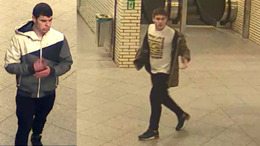 Zwei Tatverdächtige - Foto: Polizei Berlin