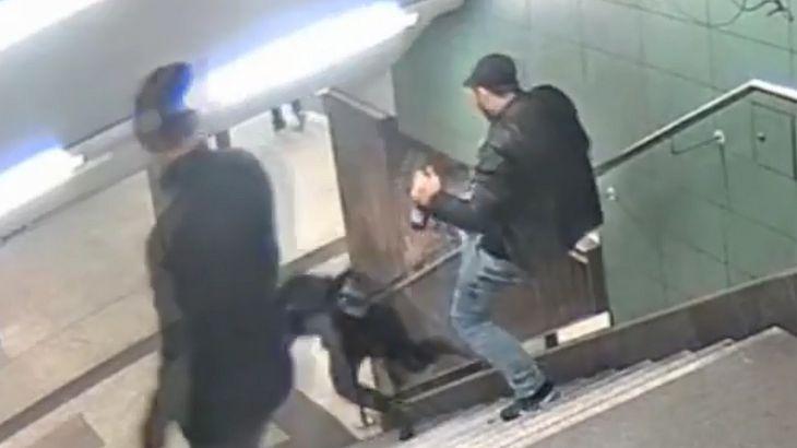 U-Bahn-Treter im Knast verprügelt
