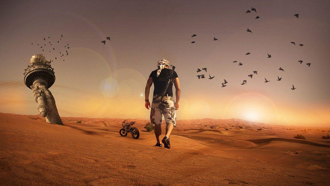 So überlebst du in der Wüste