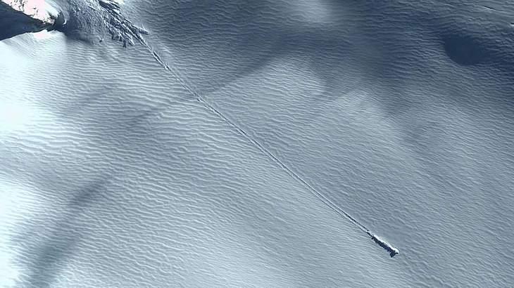 Das mysteriöse Objekt in der Antarktis