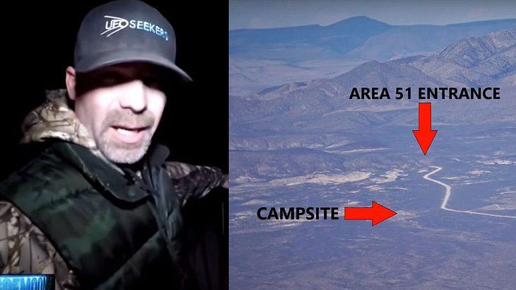 Tim Doyle glaubt, ein Ufo gesichtet zu haben