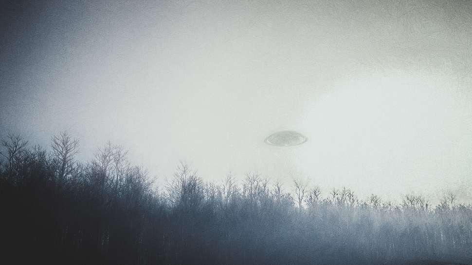 UFO-Sichtung - Foto: iStock / gremlin