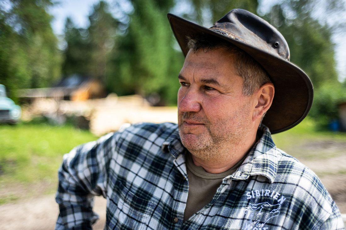 Ulf Siebach ist nach Sibirien ausgewandert