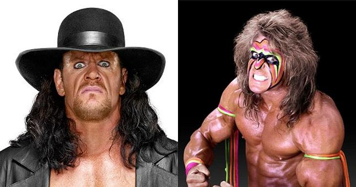 Wrestling-Legenden: Der Undertaker und er Ultimate Warrior