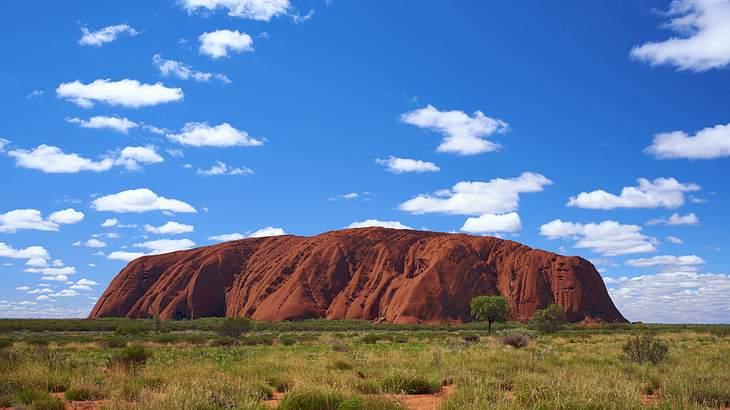Australiens Uluru wird für Kletterer geschlossen