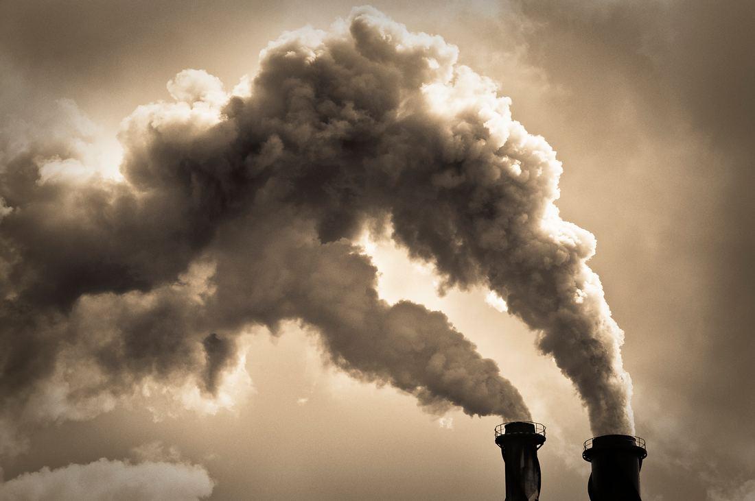 Industrielle Luftverschmutzung