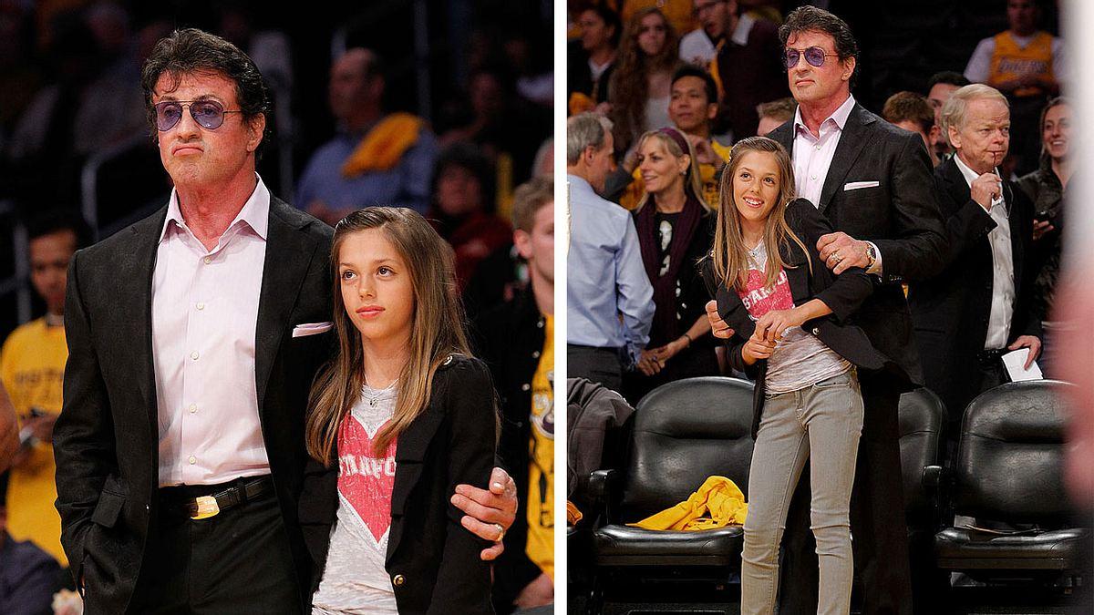 WOW! So sexy sieht die Tochter von Sylvester Stallone heute aus