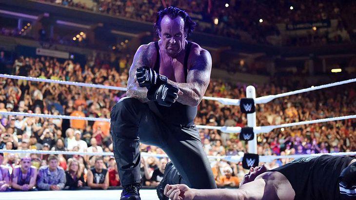 Ruhestand? Nichts für den Undertaker!