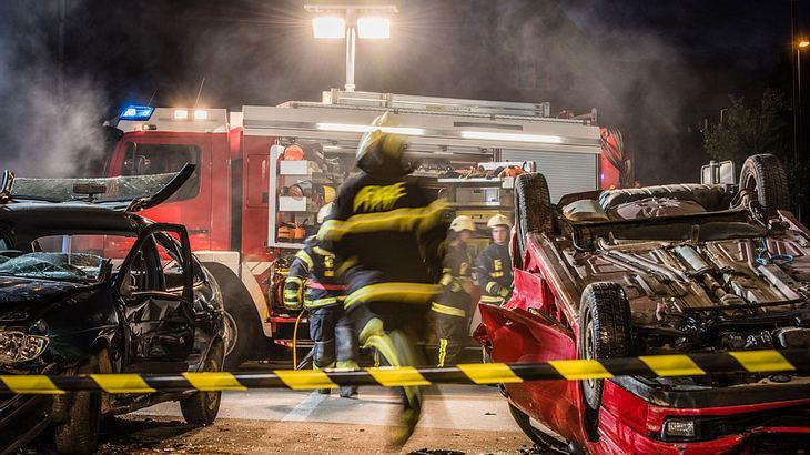 Unfall auf der A6: Retter beschimpft und bespuckt - ein Toter