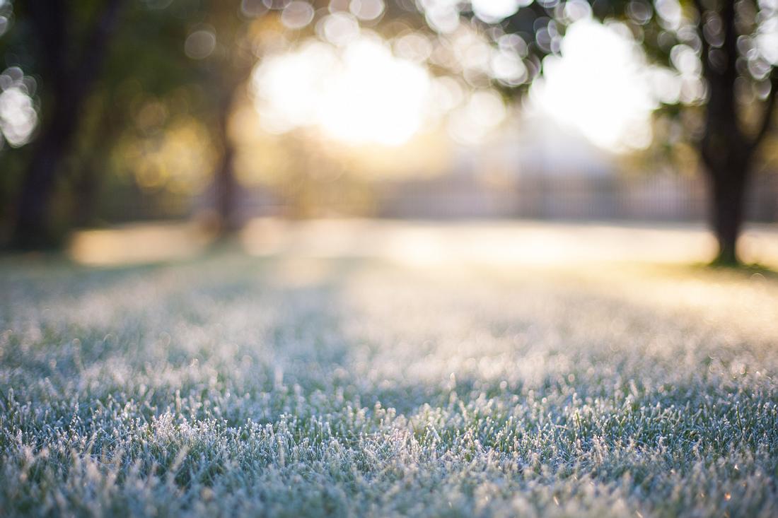 Uns erwartet frostiges, aber sonniges Wetter