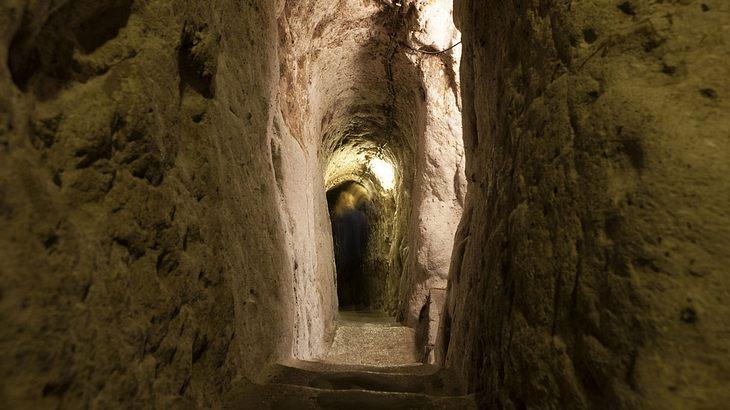 Eingang zur unterirdischen Stadt Derinkuyu