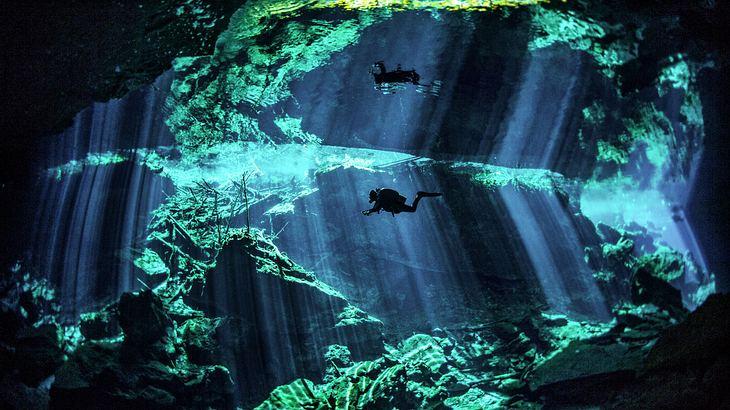 Längste Unterwasserhöhle der Welt in Mexiko entdeckt