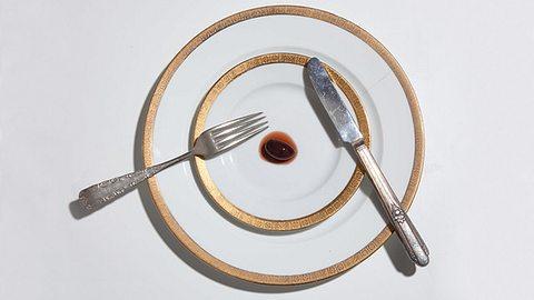 Das Henkersmahl von Männern im Todestrakt