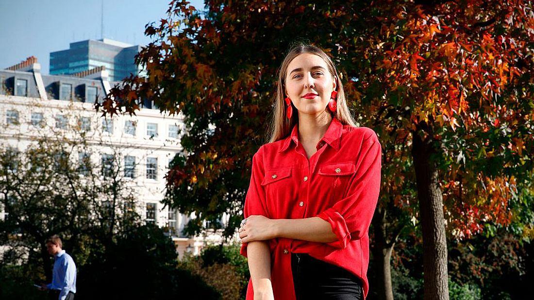 Gina Martin hat sich erfolgreich gegen ein Upskirting-Verbot eingesetzt.