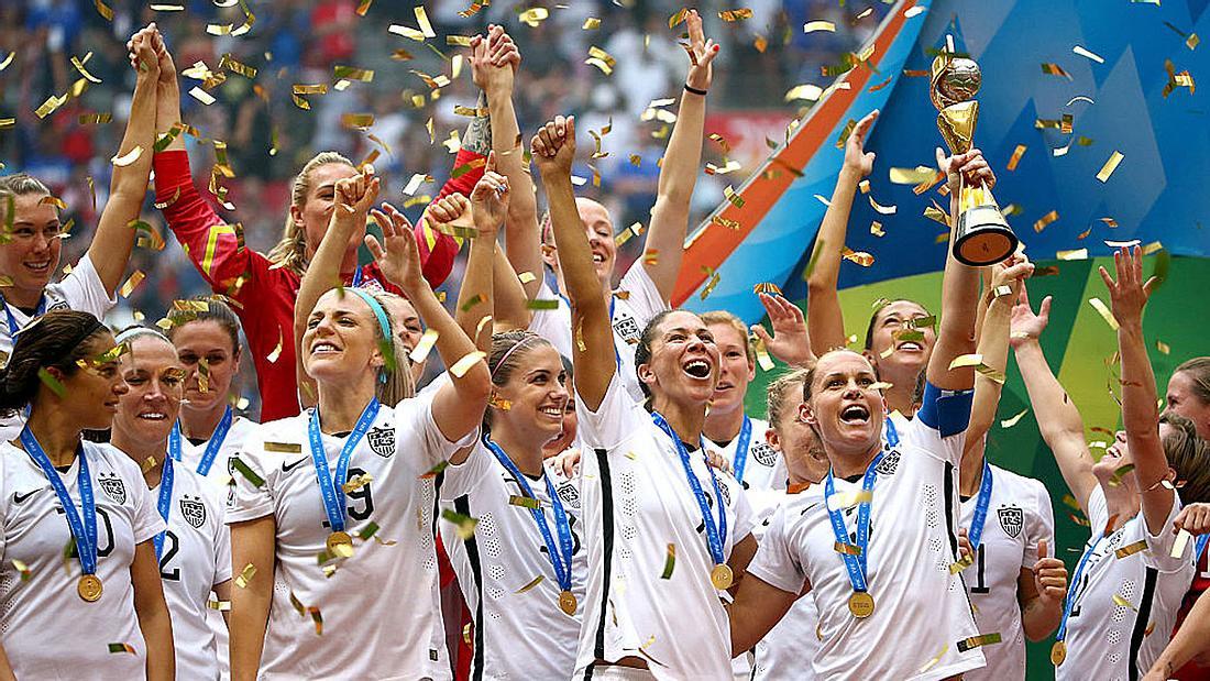 Die US-Frauenfußball-Nationalmannschaft.
