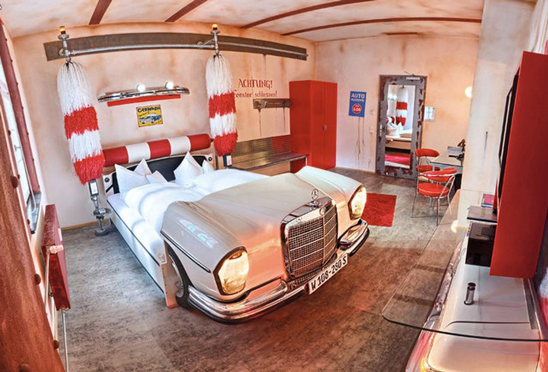 Das V8-Hotel in Stuttgart