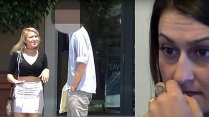 Ponostar Valerie White testet die Treue dieses vergebenen Mannes - Foto: YouTube/ToCatchACheater