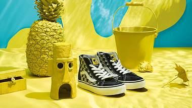 Neu: SpongeBob-Kollektion von Vans und Nickelodeon