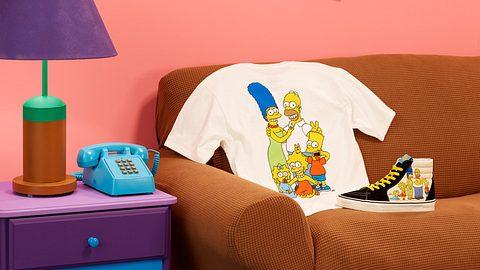 Vans x Die Simpsons: Neue Kollektion mit Footwear, Apparel & Accessoires