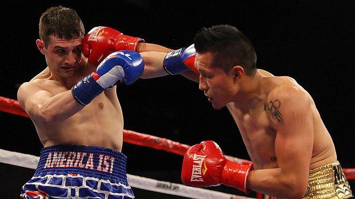 Boxkampf Vargas vs. Salka
