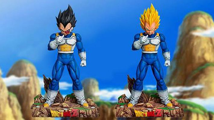 Lebensechte Vegeta-Statue - Foto: Anime-Collect