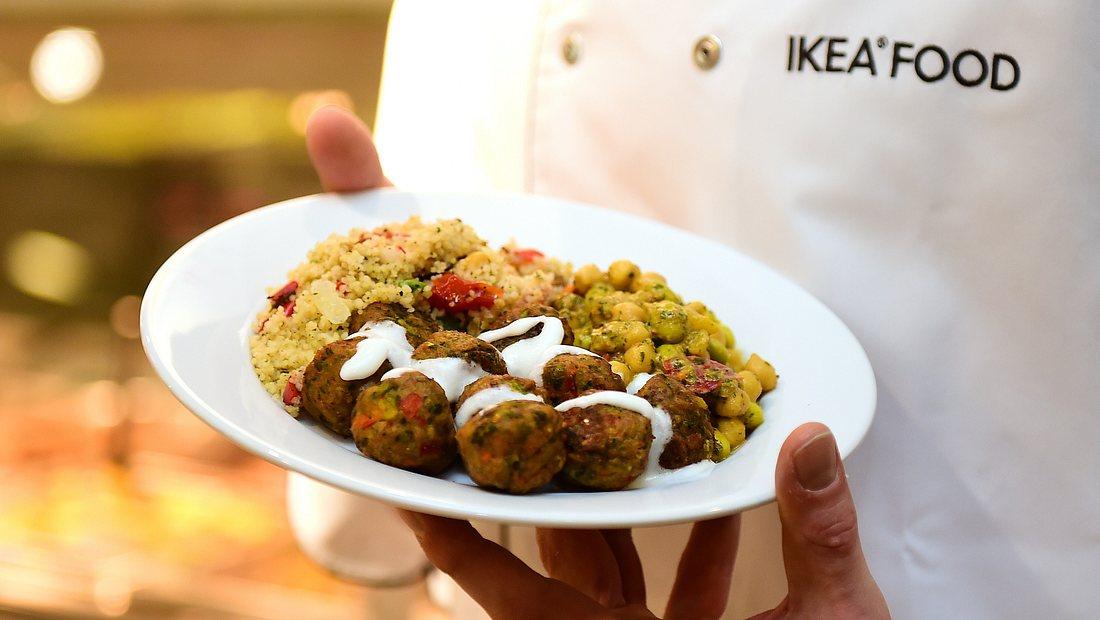 Vegetarische Köttbullar bei Ikea