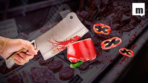 Jetzt gibt es vegetarische Metzger für Soja-Jünger - Foto: iStock/ Montage: Männersache