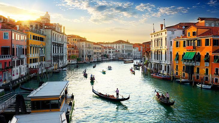 Sehenswürdigkeiten von Venedig.