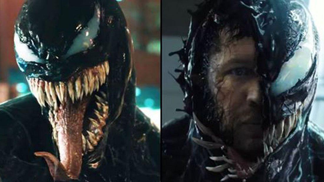 Tom Hardy als und in Venom